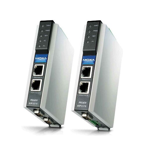 MGate EIP3170 DF1 to EtherNet/IP gateway, 1 port – MTSE Company